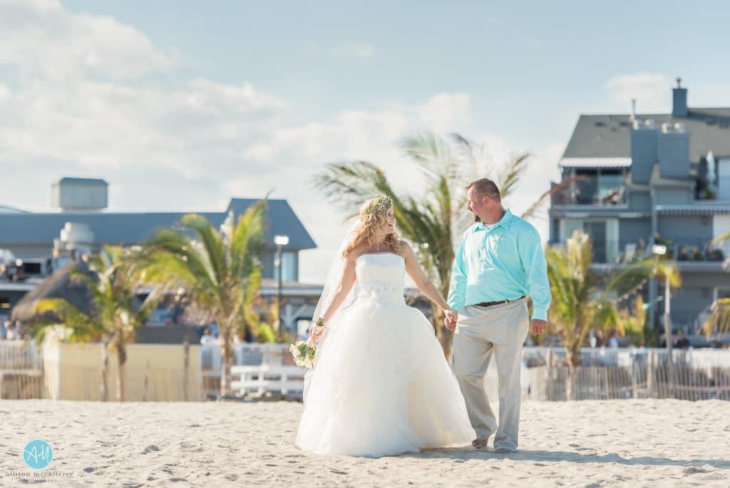 jenkinsons inlet wedding photos