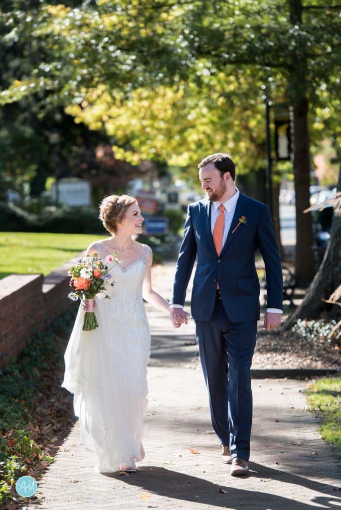 Moorestown Community House Wedding Photo