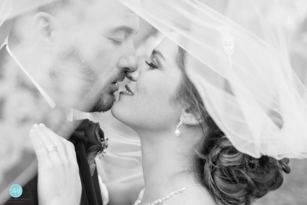 Just love the before-kiss photo especially when there's a veil involved!
