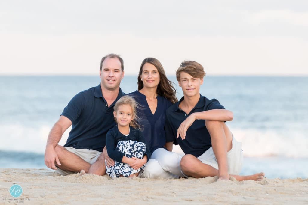 Beach Haven family photo shoot