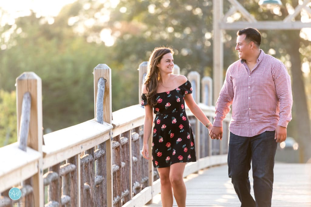 Spring Lake Engagement Photography