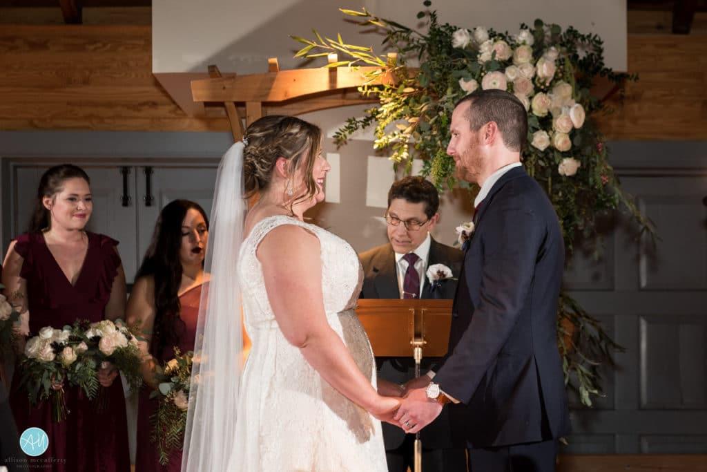 Carriage House Rockwood Wedding Ceremony