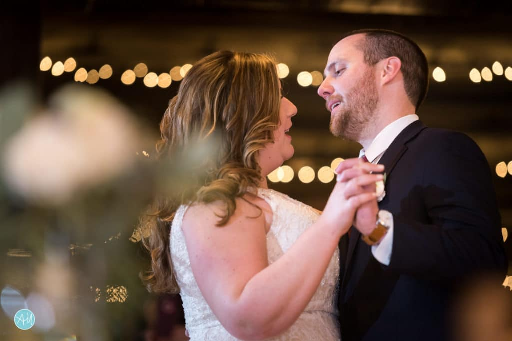 Carriage House Rockwood Wedding First Dance
