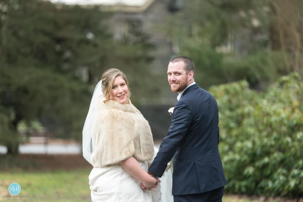 Carriage House Rockwood Park Winter Wedding