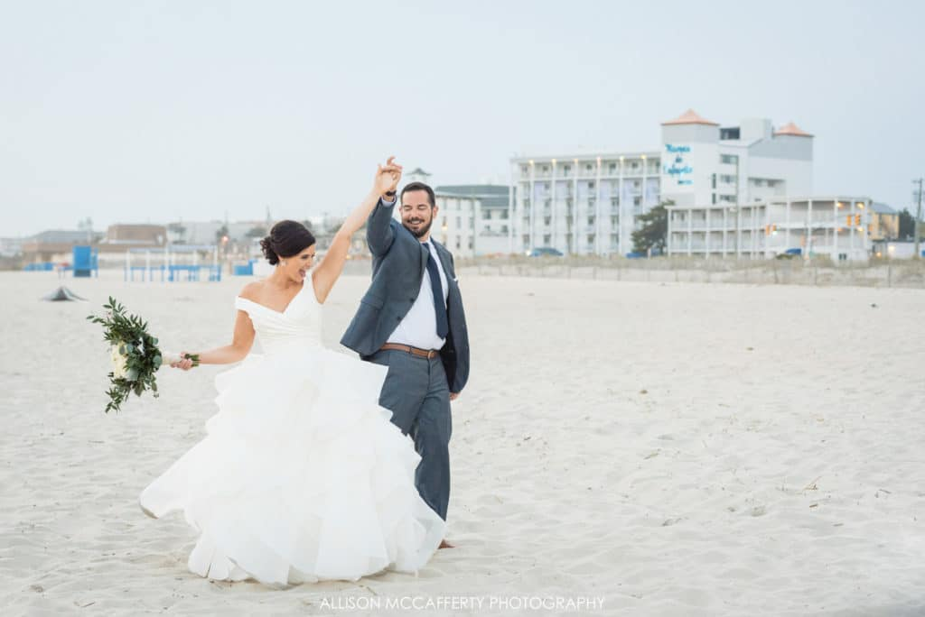 Cape May Convention Hall Wedding