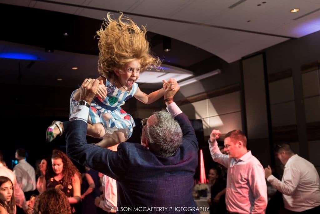 Fun reception photos in NJ