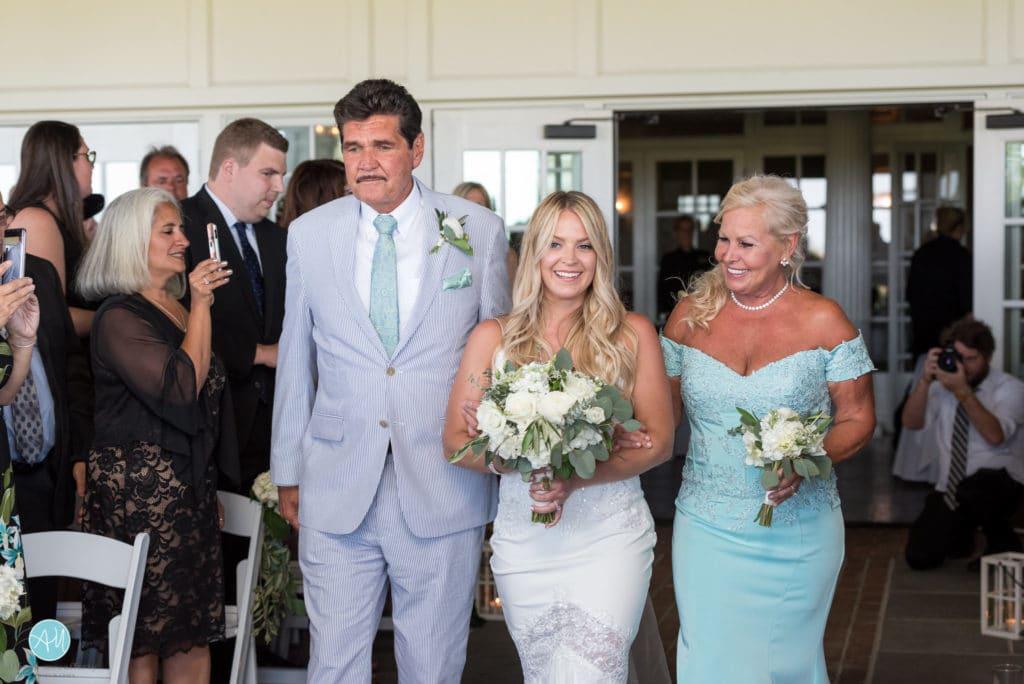 Wedding Ceremony at Atlantic City Country Club