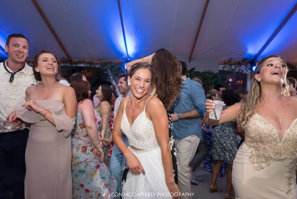 Icona Diamond Beach Wedding Reception