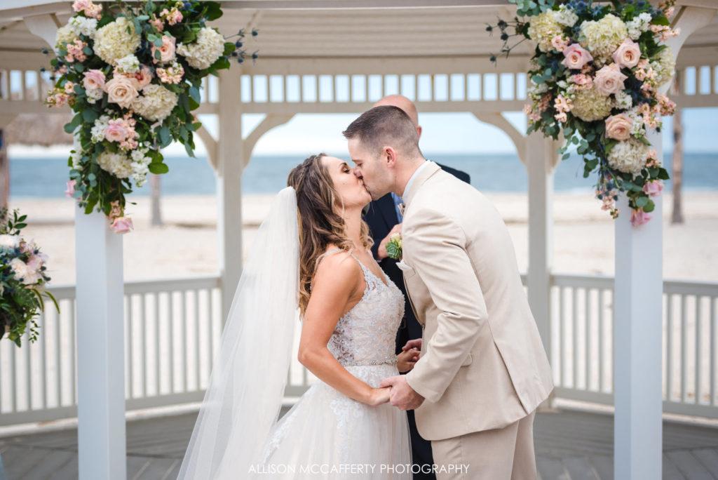 Sea Bright NJ Wedding Picture