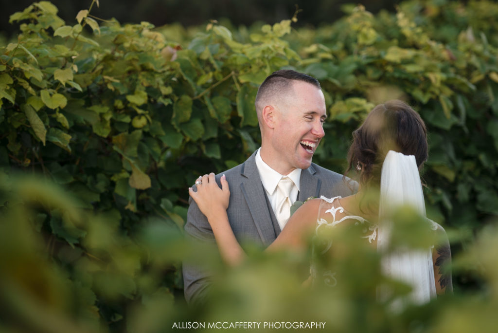 Valenzano Winery Wedding Photo