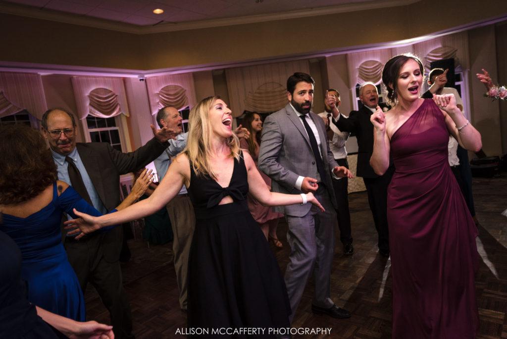 Springfield Country Club Wedding Reception