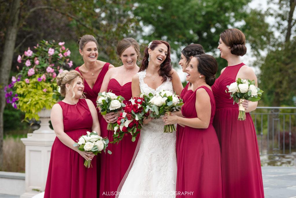 Bridesmaids at the Park Chateau