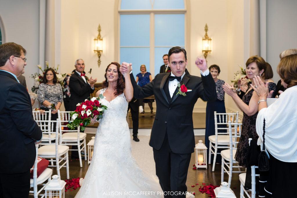 Wedding inside Park Chateau Wedding Chapel