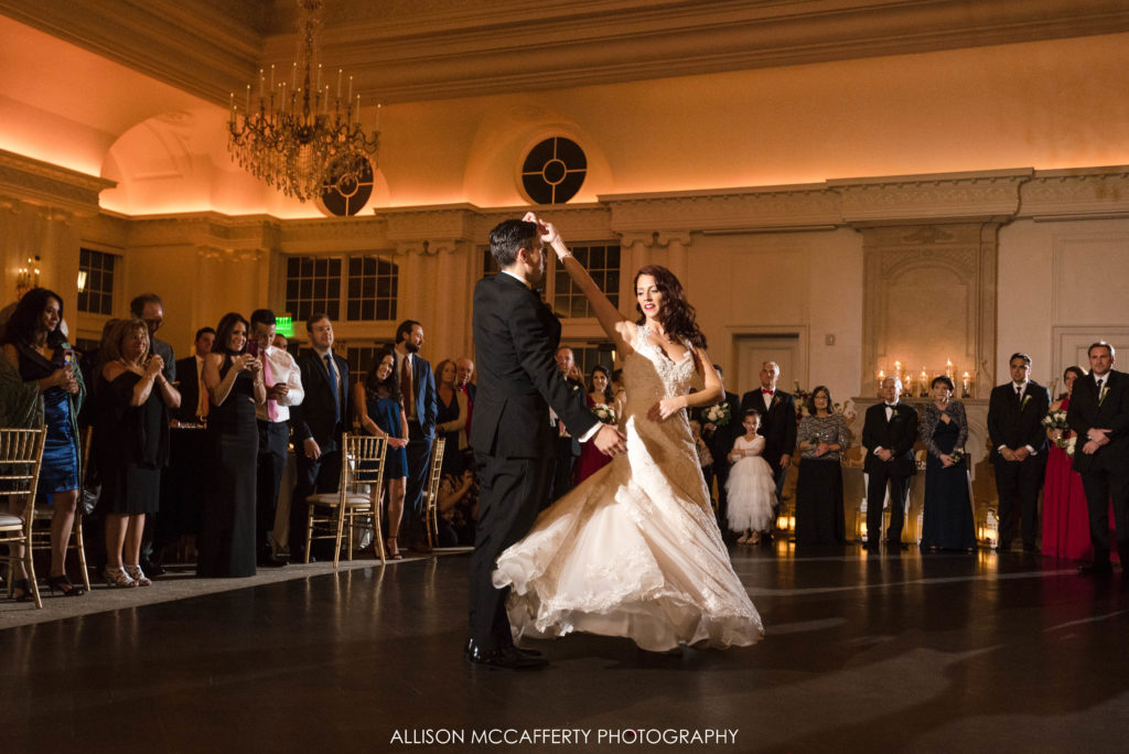 First dance at Park Chateau