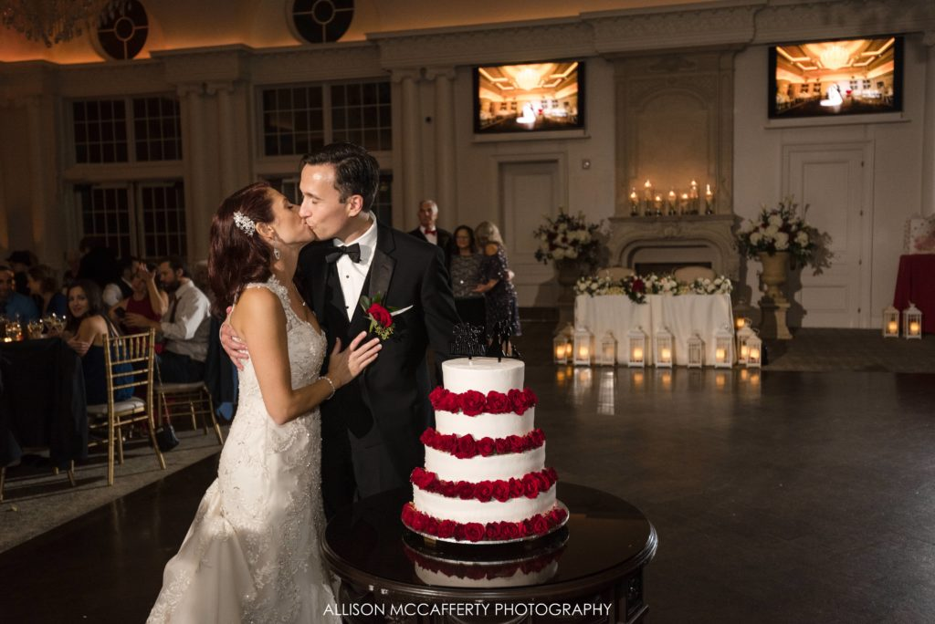 Cake cutting at the Park Chateau