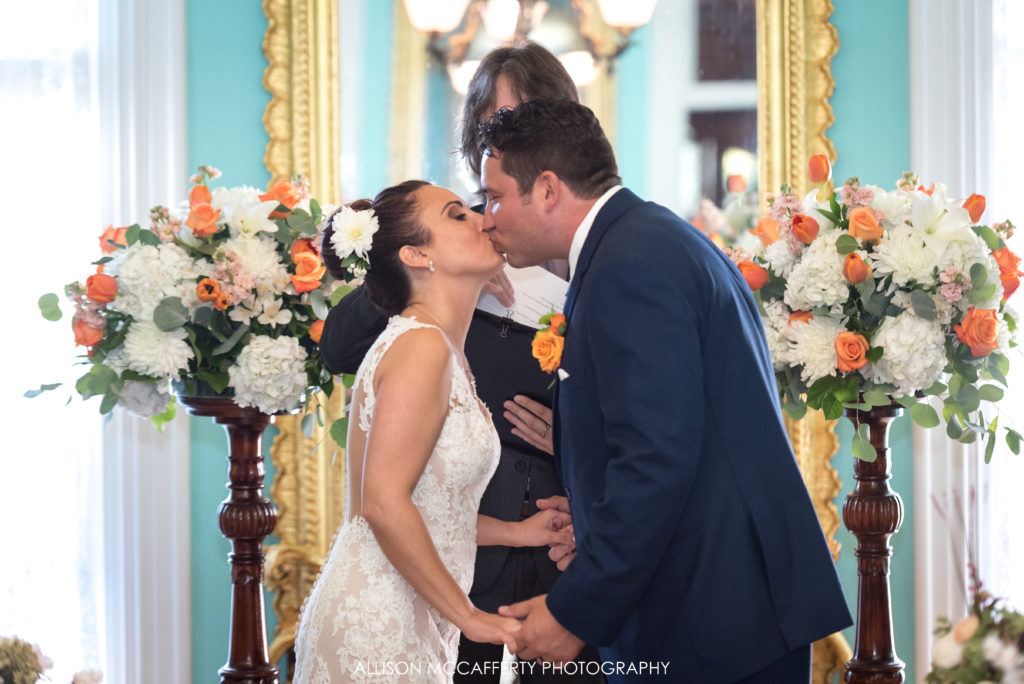 Wedding Photography at the Southern Mansion Cape May NJ