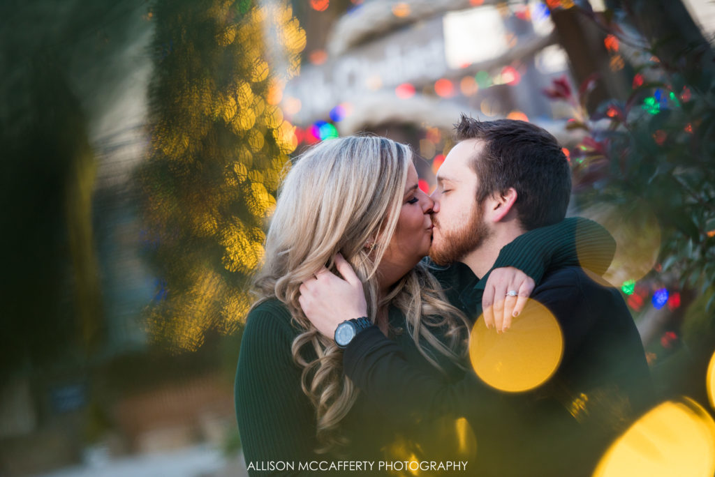 Winter Fest Engagement Session