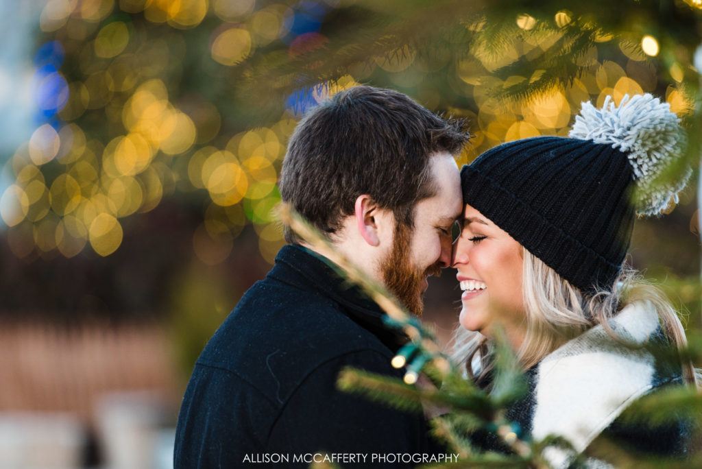Winter Fest Penns Landing Engagement Photos