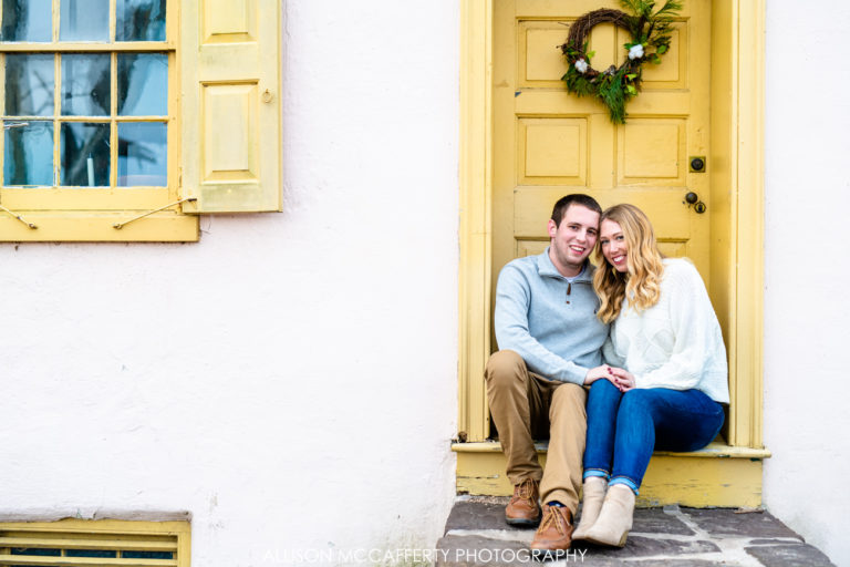 Lindsay & Chris | Washington Crossing Engagement