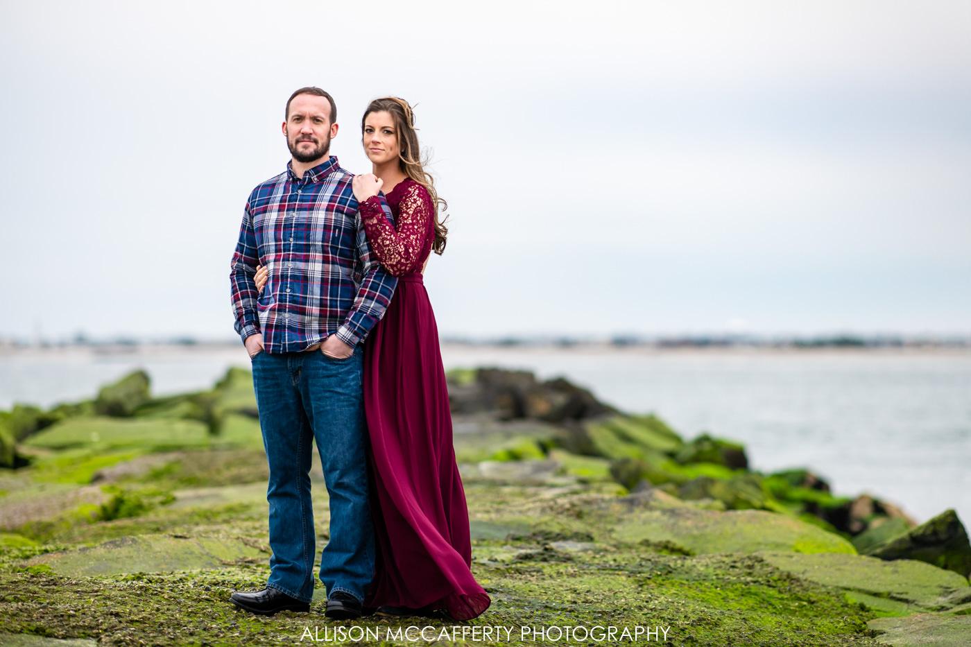 Longport NJ Engagement Photos