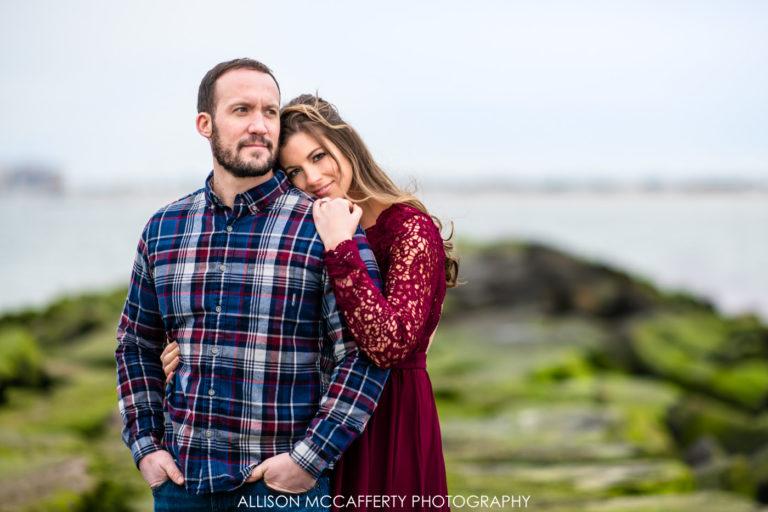 Mary & Jason | Margate NJ Engagement Photos