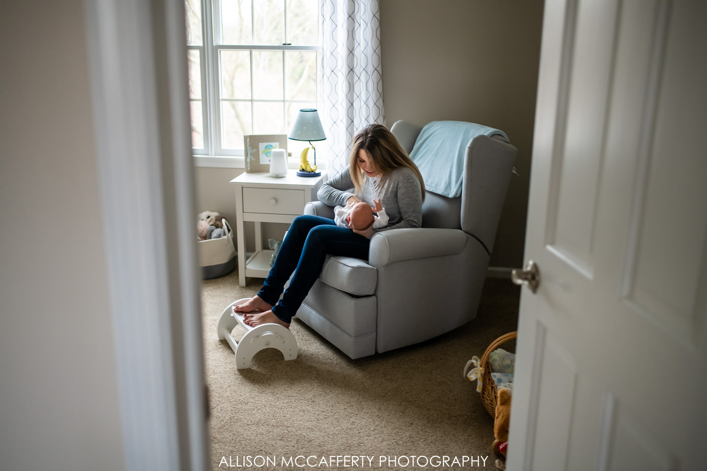 South Jersey In Home Newborn Session