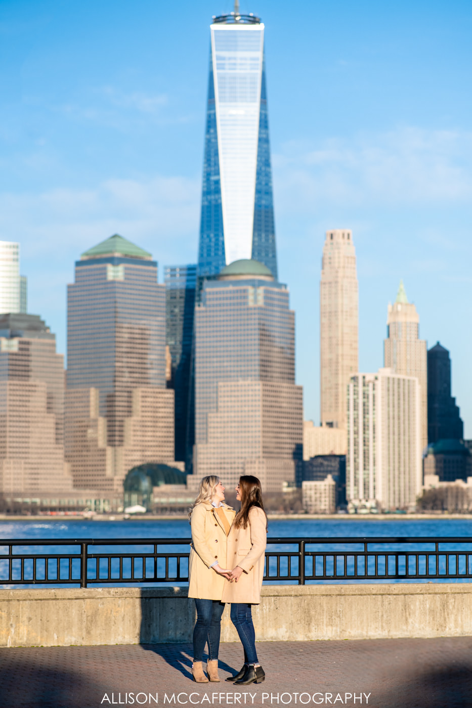 Jersey City Engagement Photography