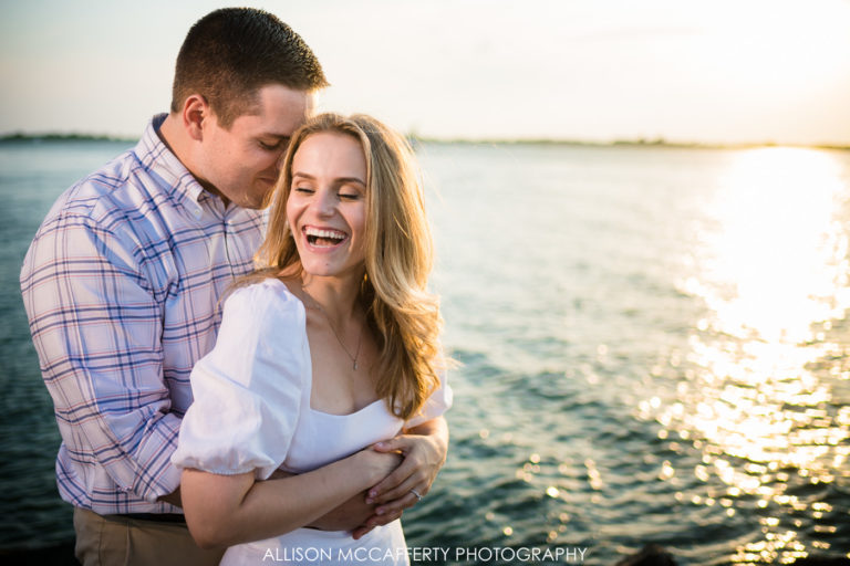 Shirin & Will | Barnegat Lighthouse Engagement