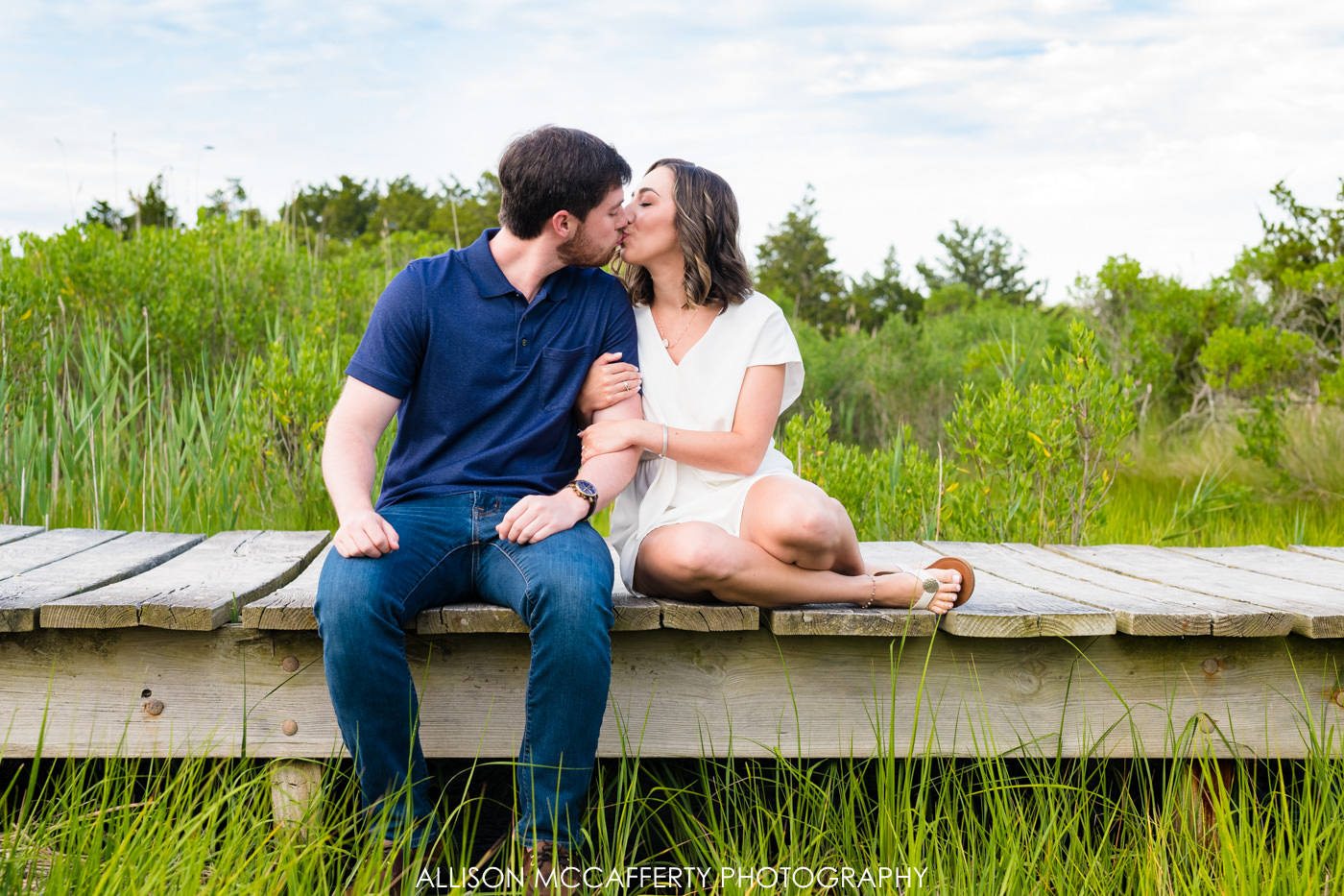 Corson's Inlet Engagement Photos