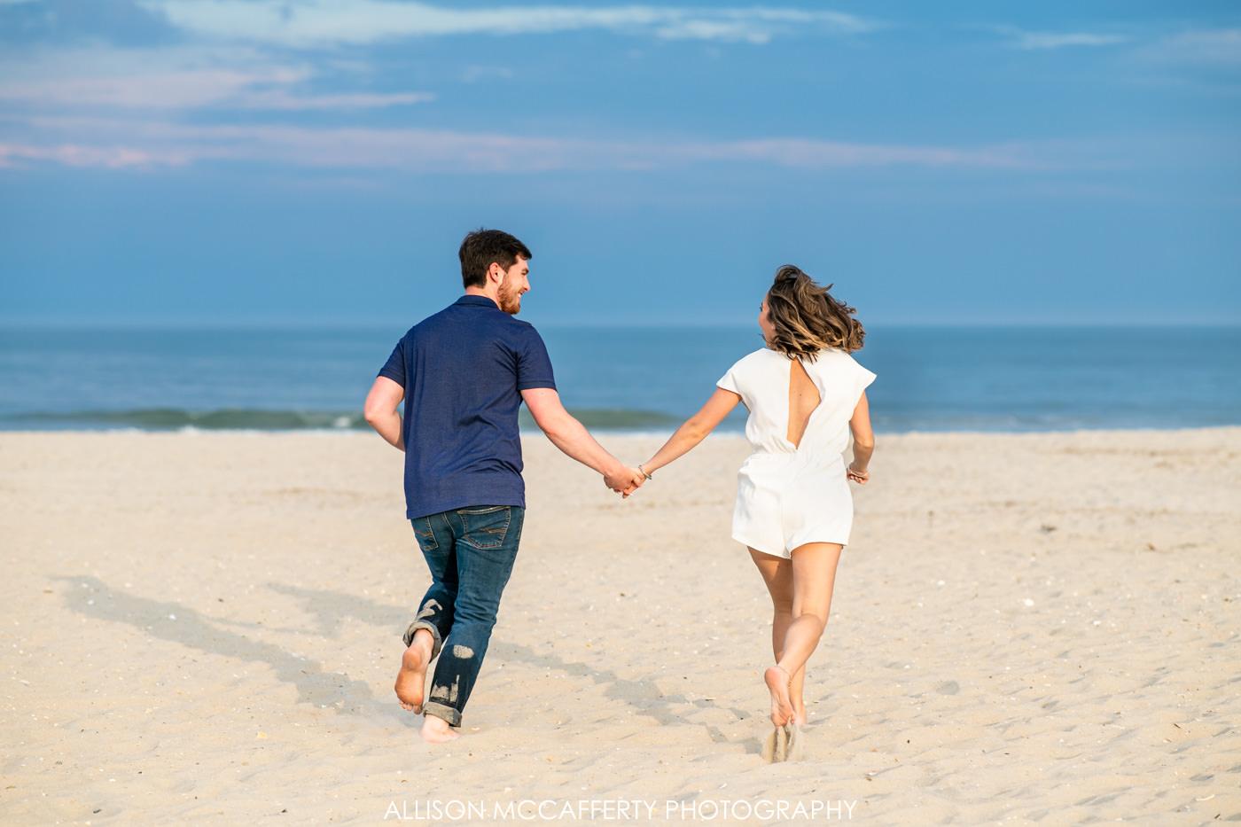 Fun Engagement Photos in Ocean City NJ