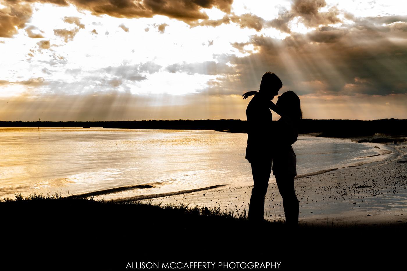 Corsons Inlet Engagement Photographer