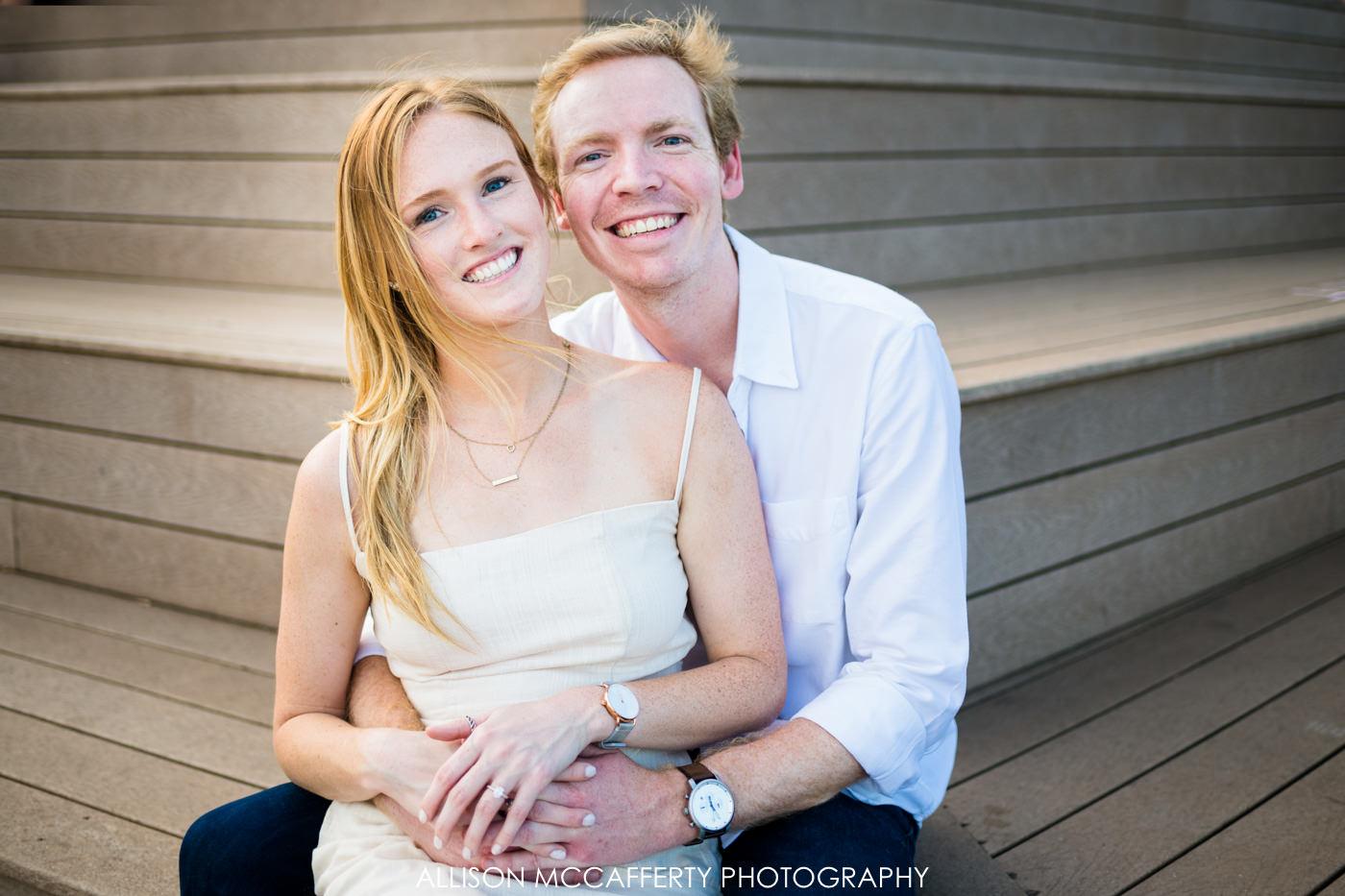 Engaged Couple in Philadelphia