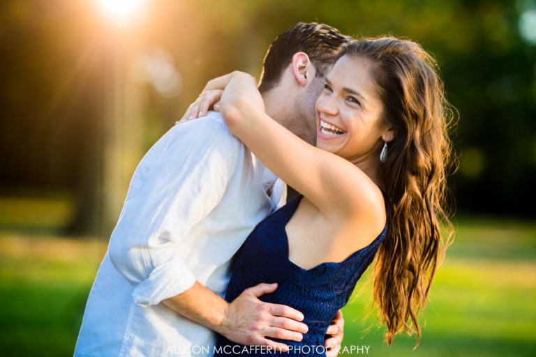 Sadie & Joe | Red Bank Battlefield Park Engagement