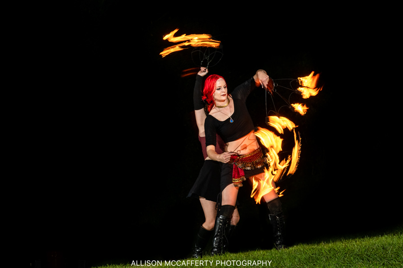 PA Fire Dancer Pictures