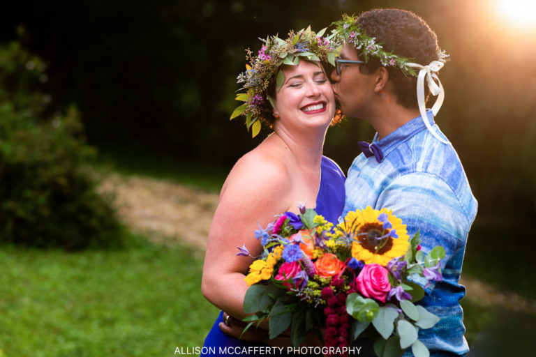 Curtis & Karen | A Reinholds, PA Backyard Wedding