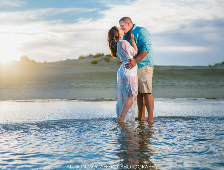 Alyssa & Dan | Stone Harbor Engagement