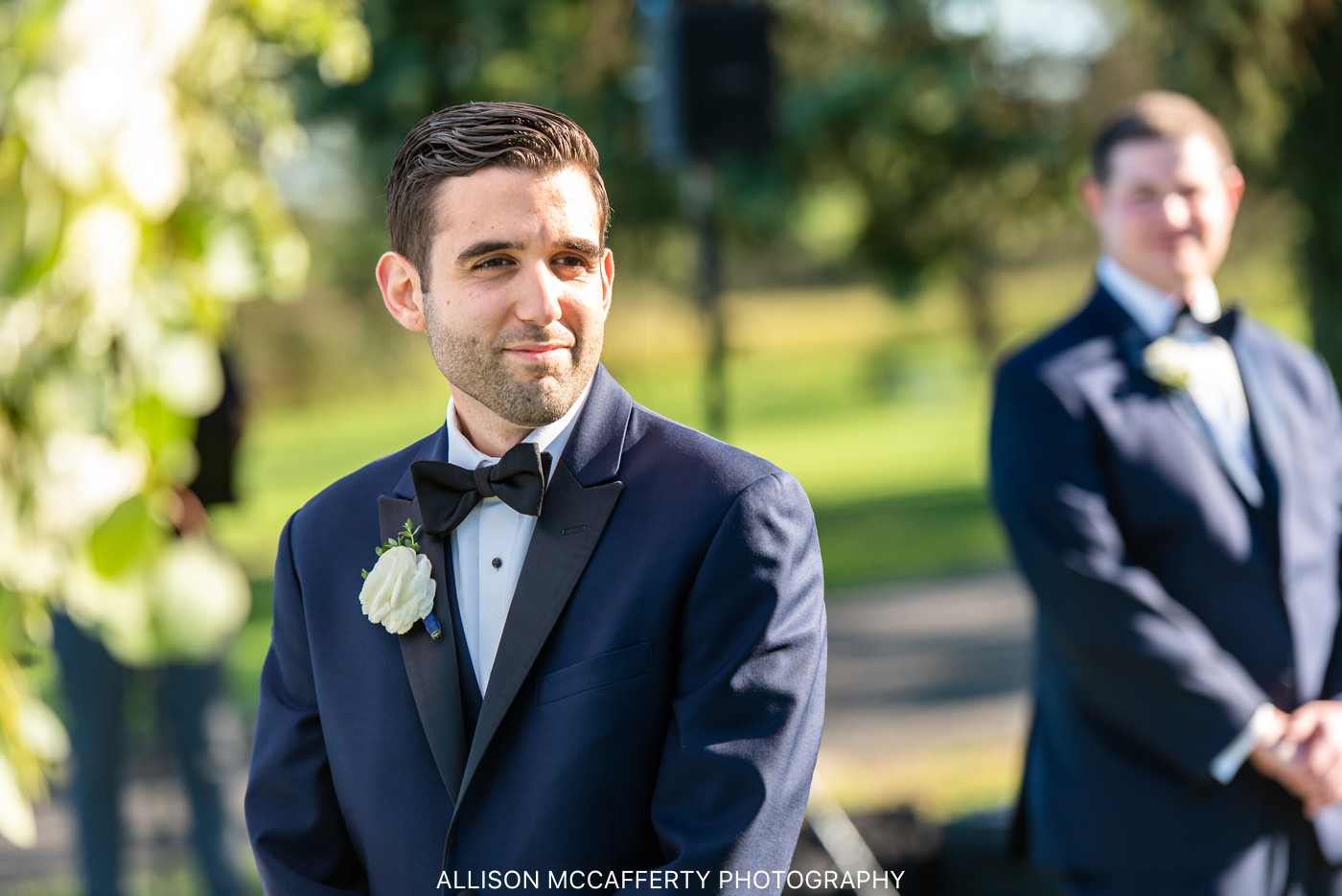 Linwood Country Club Outdoor Wedding
