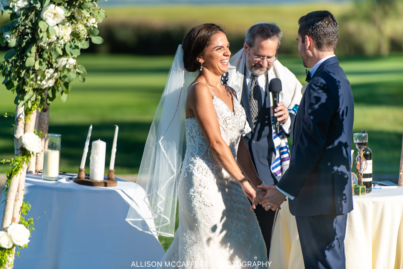Linwood Country Club Outdoor Wedding Space