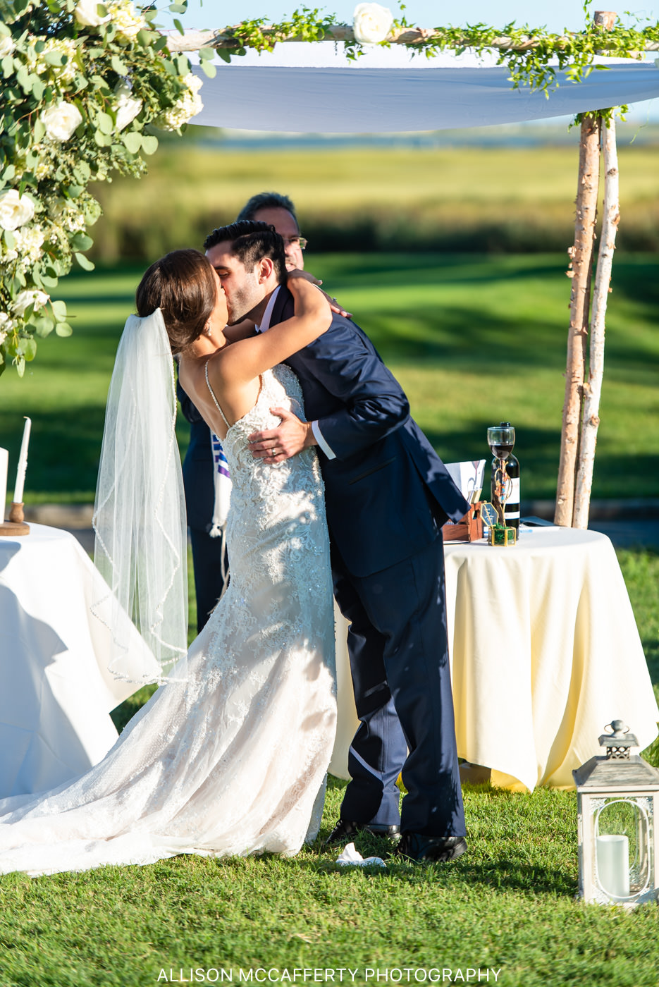 Linwood Country Club Outdoor Wedding Gallery