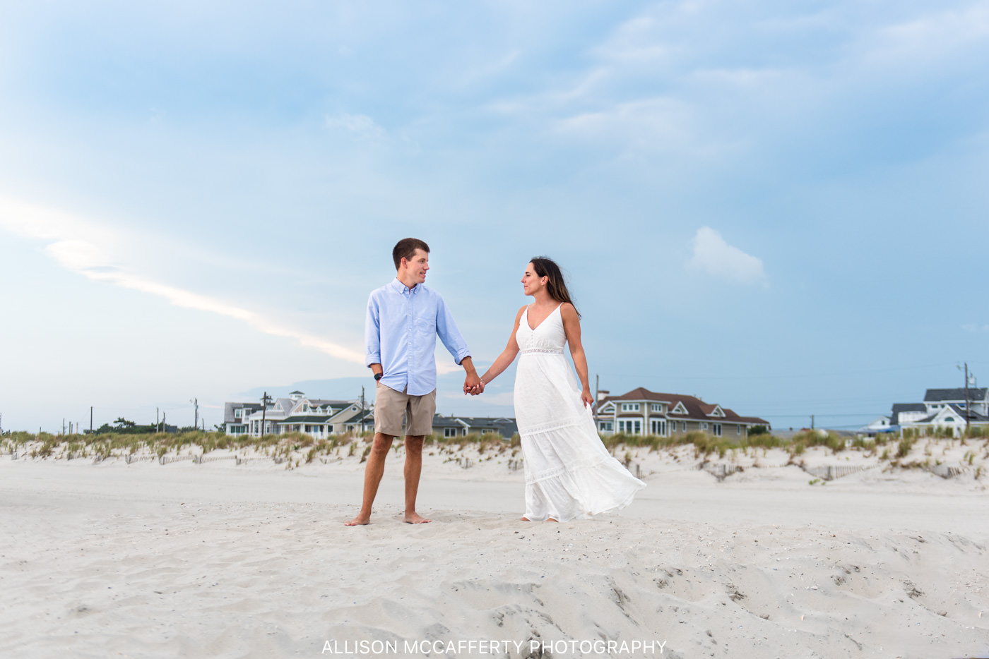 Ocean City NJ Beach Engagement Pictures