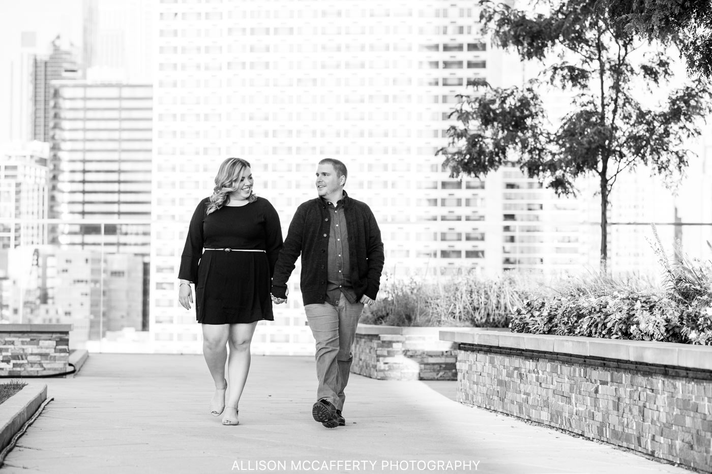 Cira Green Philly Engagement Session