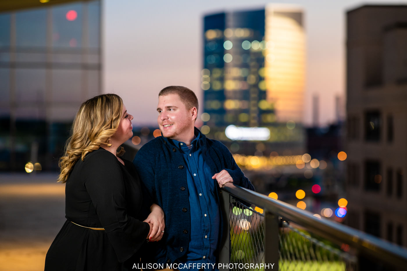 Philly Night Engagement
