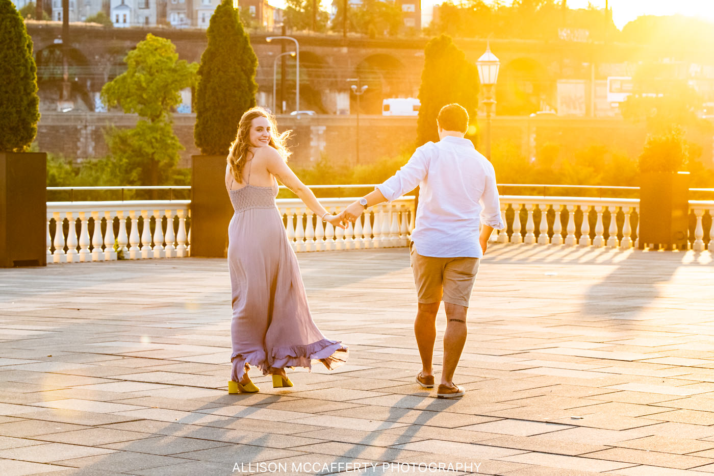 Philadelphia Museum of Art Engagement Photos