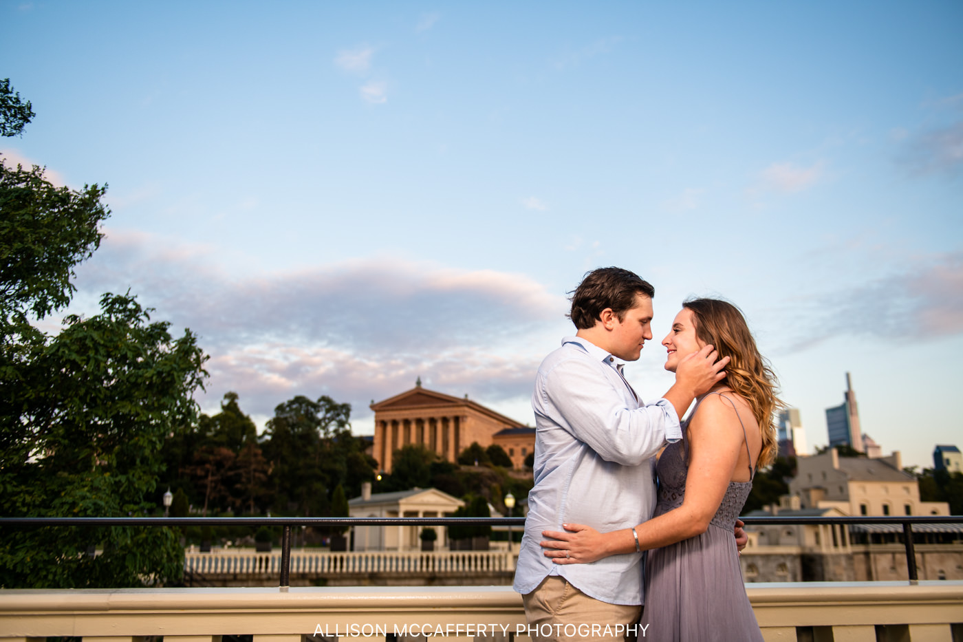 Where to Do Engagement Photos in Philadelphia