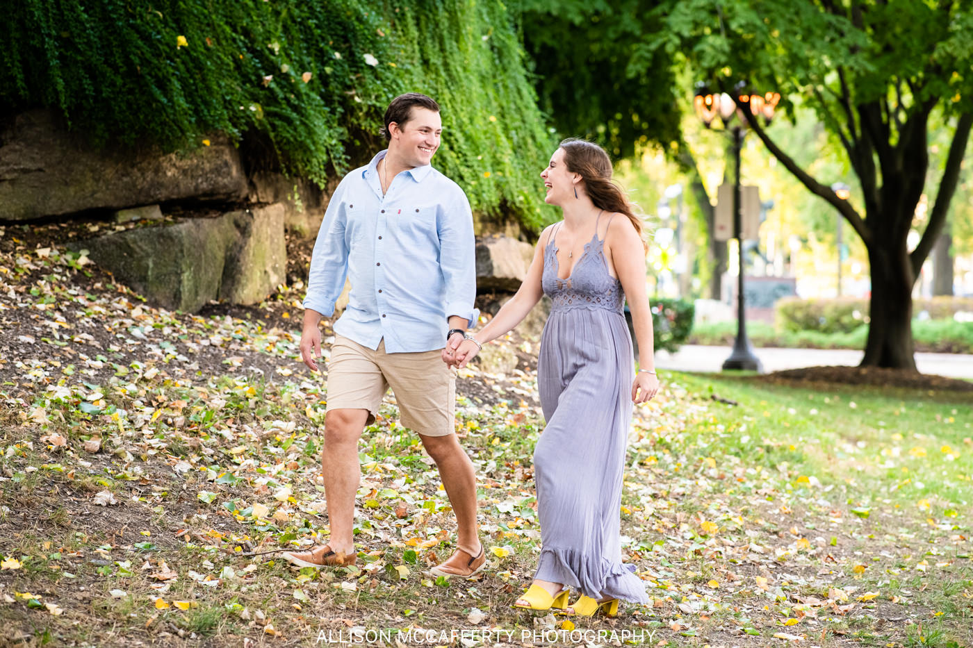Philadelphia Art Museum Engagement Photo