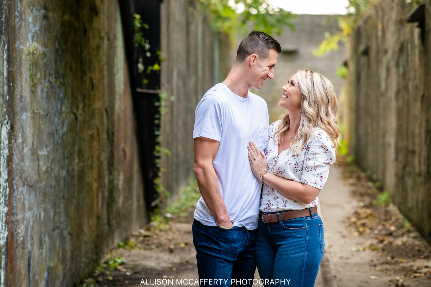 Sandy Hook Engagement Session
