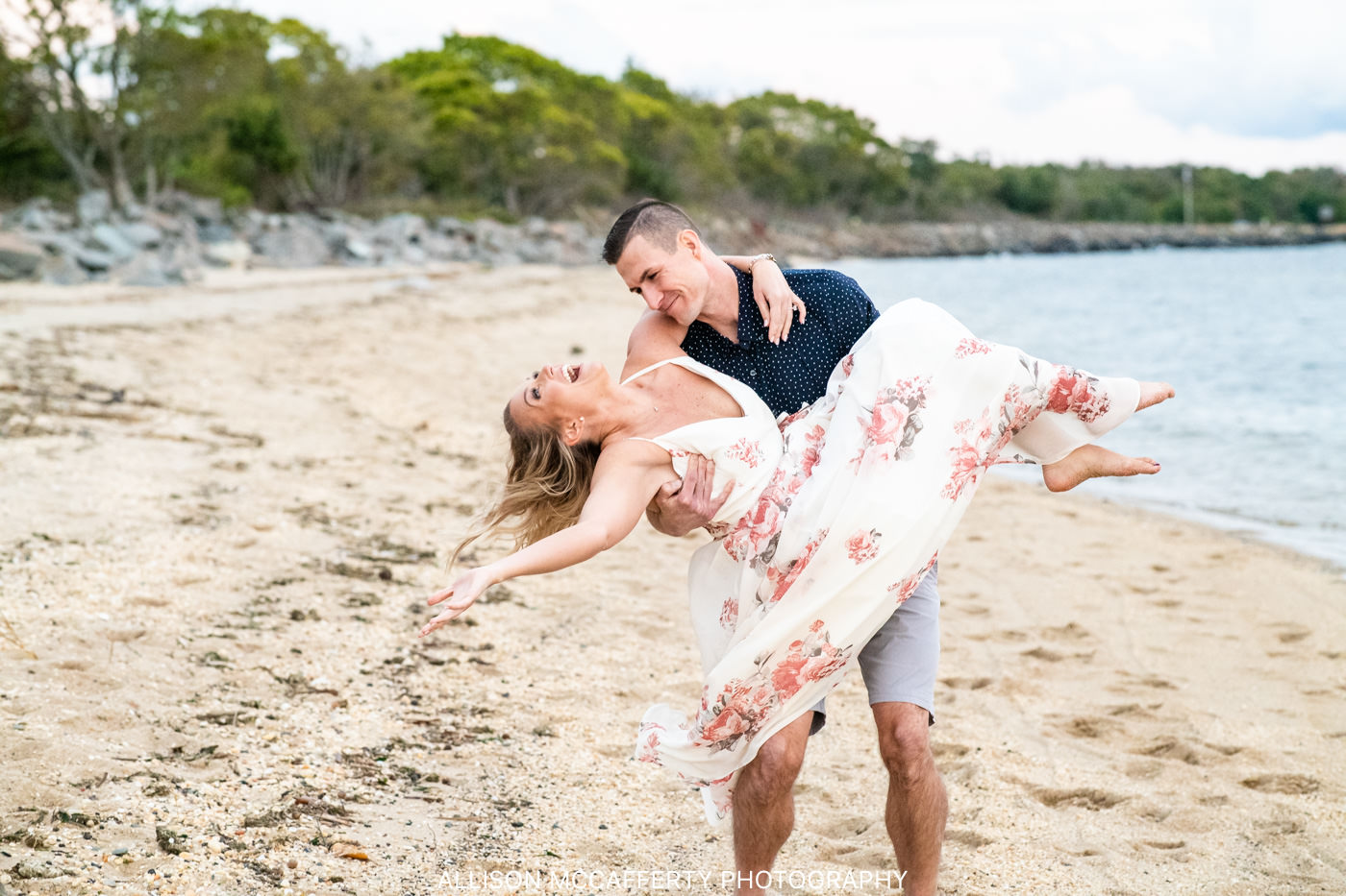 North Jersey Beach Wedding Photographer