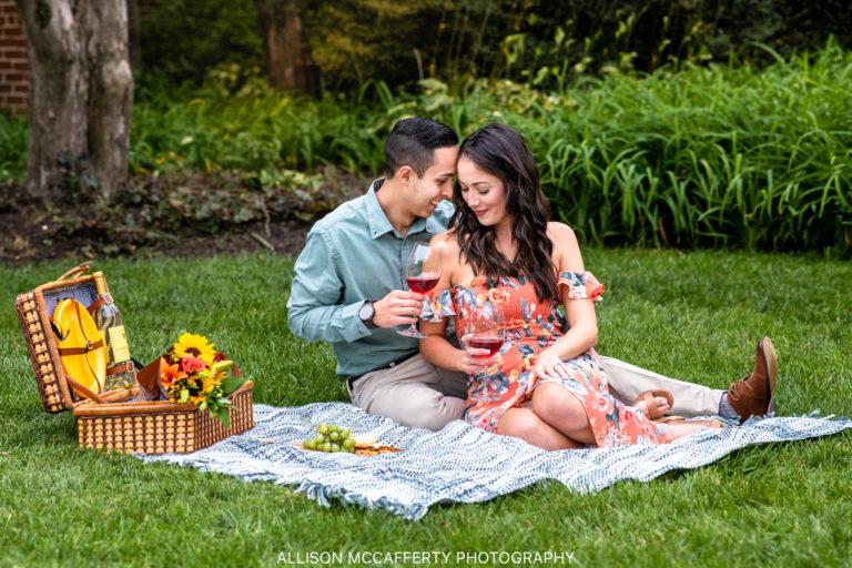 Tori & Matt | Smithville Mansion Engagement