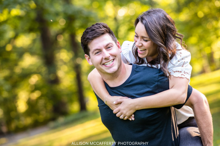 Shelly & Devin | West Chester University Engagement