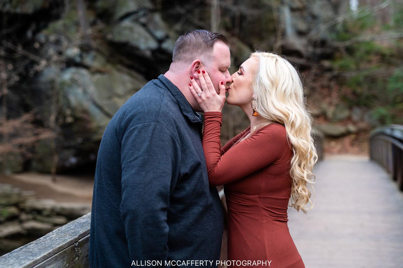 Lorimer Park Engagement Photo